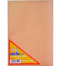 Marlin Precut  book covers A4 Brown Kraft 10's