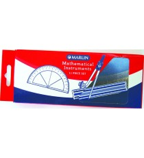 Marlin math set 11pce in metal container