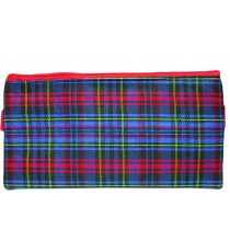Marlin Tartan pencil bag 20cm