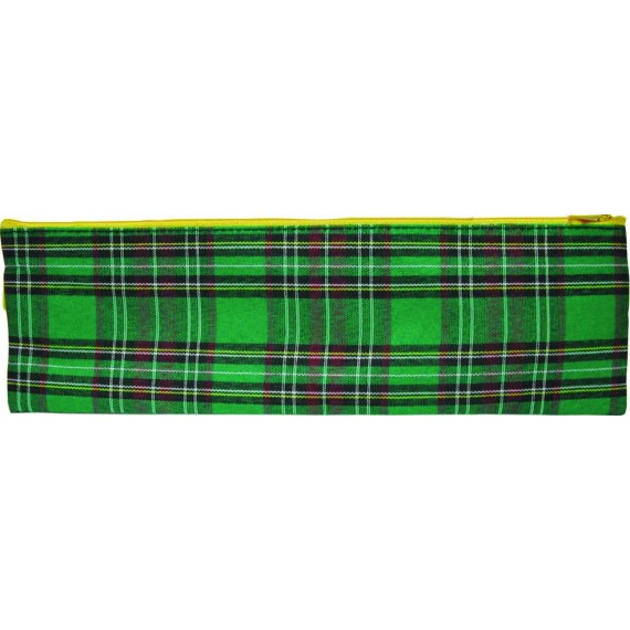 Marlin Tartan pencil bag 34cm