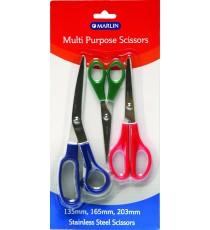 Marlin scissor set 3pce multi purpose