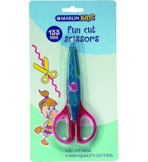Marlin Kids scissors fun cut 130mm 2 asst. cuts - 1 cut / pack