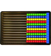 Marlin Plastic Abacus 120 beads flat board