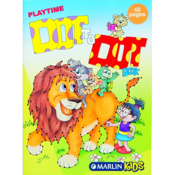 Marlin Playtime dot to dot books 48 page