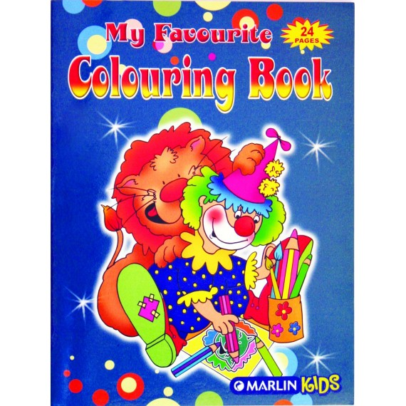 Marlin My favourite colouring books 24 page