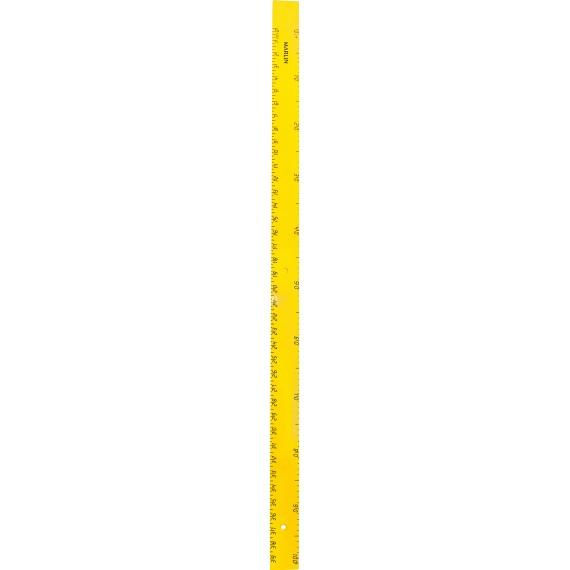 Marlin chalkboard ruler 1metre