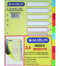 Marlin File divider/indexes 10 position