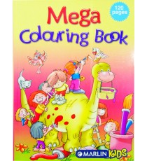 Marlin Mega colouring books 120 page