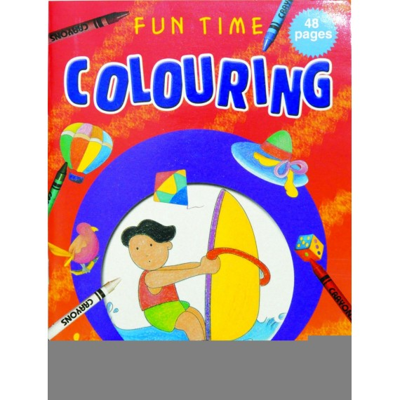 Marlin Fun time colouring books 48 page