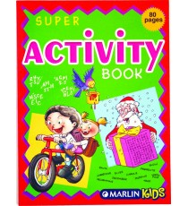 Marlin Super activity books 80 page