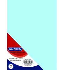 Marlin Project Boards A4 10's Tokai 160gsm Pastel blue