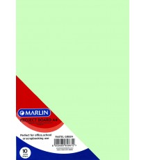 Marlin Project Boards A4 10's Tokai 160gsm Pastel green