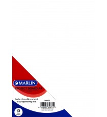 Marlin Project Boards A4 10's Tokai 160gsm White