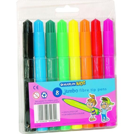 Marlin Kids jumbo koki pens 8's