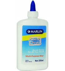Marlin white craft glue non-toxic 250ml multi purpose