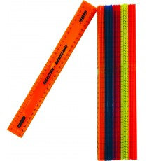 Marlin ruler 30cm solid colour 25`s 28g