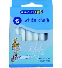 Marlin Kids white chalk 12's