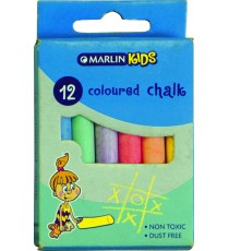 Marlin Kids colour chalk 12's