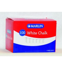 Marlin white chalk 100's