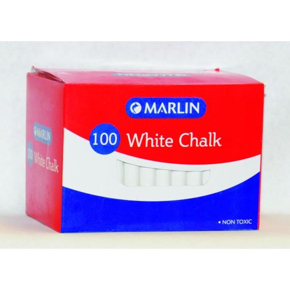 Marlin white chalk 100's