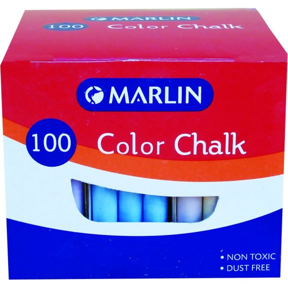 Marlin colour chalk 100's
