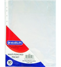 Marlin Multipunch Pockets 10's 40 micron