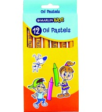 Marlin Kids oil pastels 12 colour