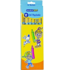 Marlin Kids oil pastels 18 colour