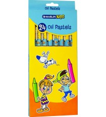 Marlin Kids oil pastels 24 colour