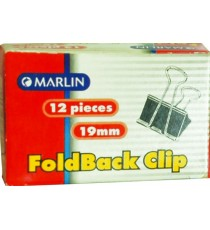 Marlin foldback clips 19mm 12's