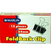 Marlin fold back clips 25mm 12's