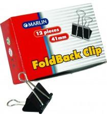 Marlin fold back clips 41mm 12's