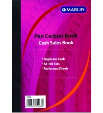 Marlin duplicate A5 books Cash sale