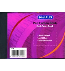 Marlin duplicate A6 books Cash sale