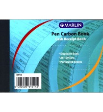Marlin duplicate A6 books Cash receipt