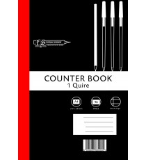 1 Quire A4 Counter Bks F/M