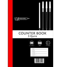 3 Quire A4 Counter Bks F/M