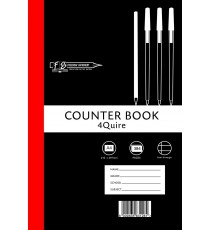4 Quire A4 Counter Bks F/M