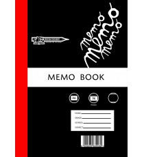 A6 Memo Bks - Hard covers