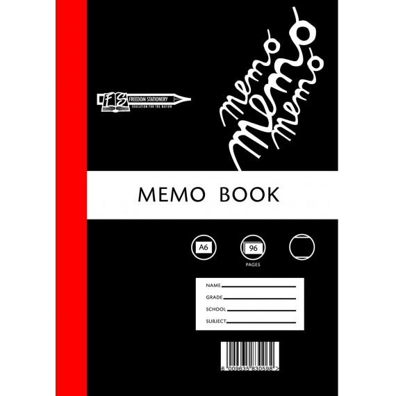 A6 Memo Bks - Hard covers
