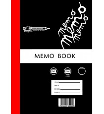 A6 Memo Bk - Hard cover