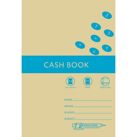 A4 Accounting Bks Cash