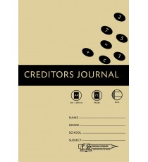 A4 Accounting Bks 8MC Creditors Journal