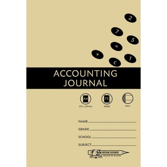 A4 Accounting Bks 8MC Accounting Jrnl.