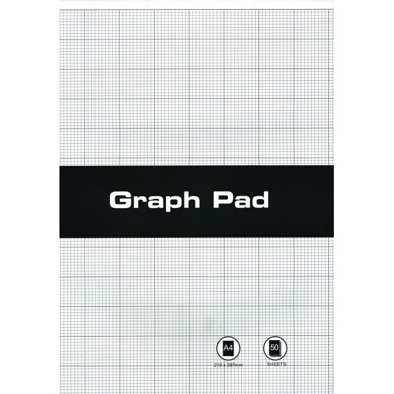 A4 Graph Pads 2mm