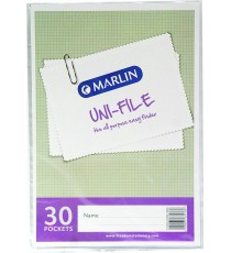 Marlin Uni-File Display Books 30 pocket