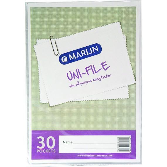 Marlin Uni-File Display Books 30 pocket