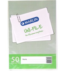 Marlin Uni-File Display Books 50 pocket