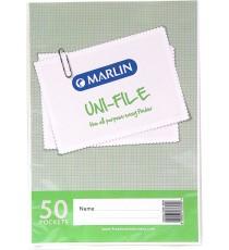 Marlin Uni-File Display Books 50 pocket