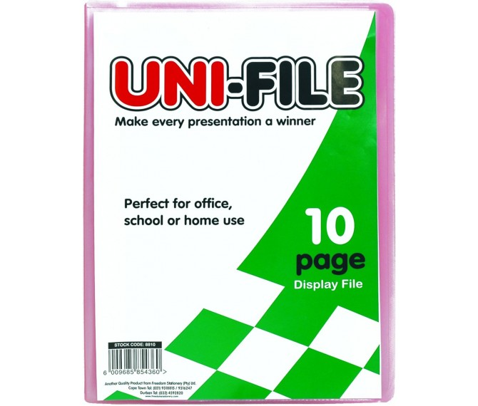 how to open uni file